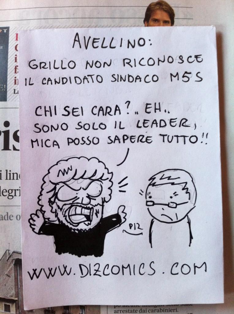 La vignetta del 17 maggio 2013 - Grillo