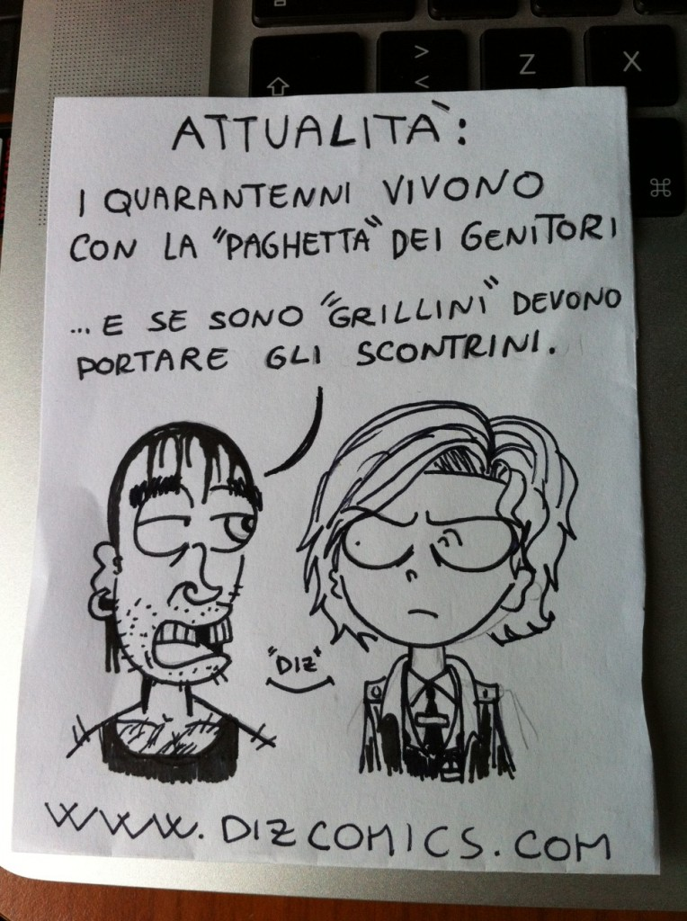 La vignetta del 22 maggio 2013 - Attualità