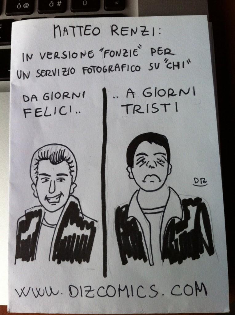 La vignetta del 22 maggio 2013 - Renzi