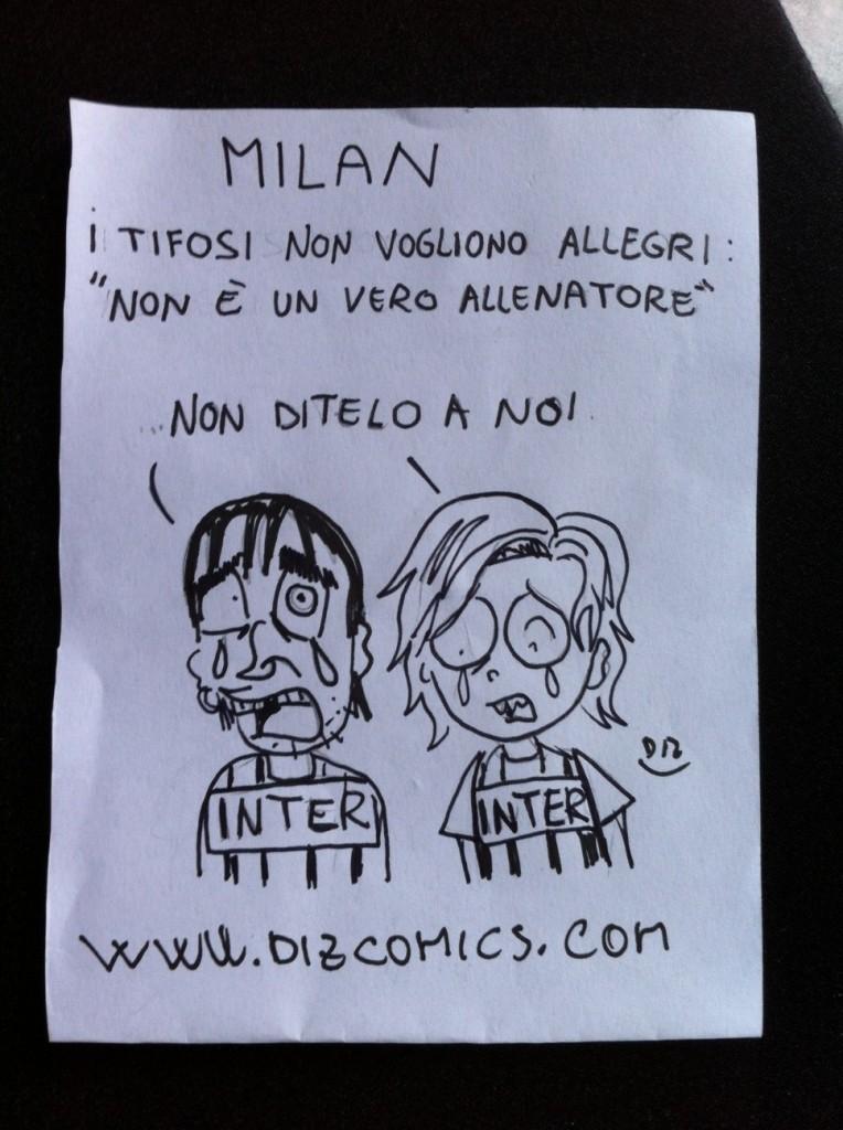 La vignetta del 23 maggio 2013 - Allegri
