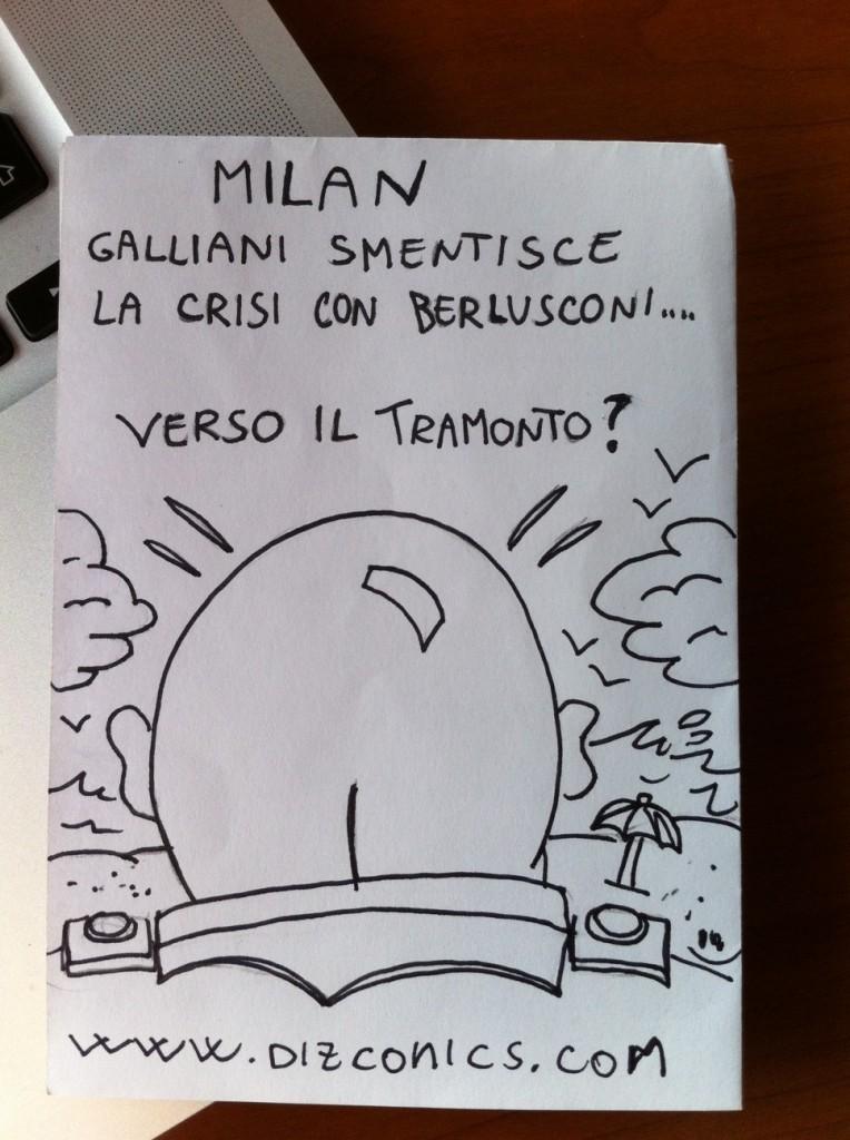 La vignetta del 24 maggio 2013 - Galliani