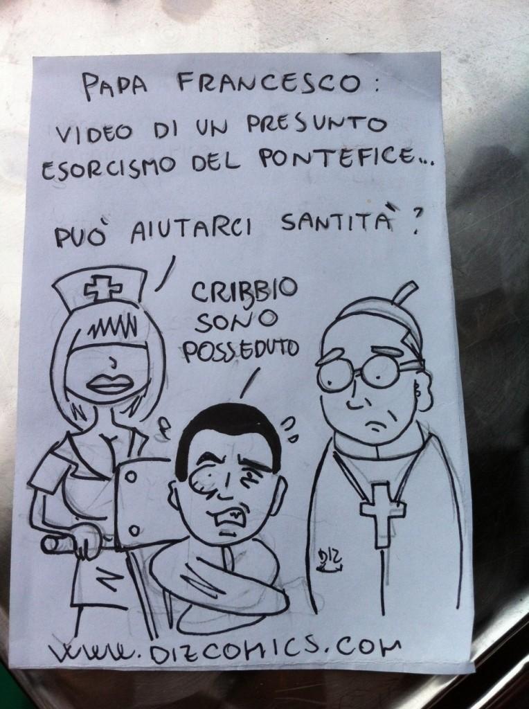 La vignetta del 21 maggio 2013 - Papa Francesco