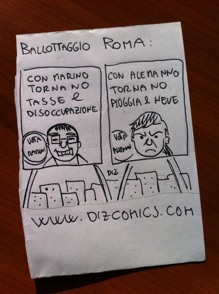 La vignetta del 7 giugno 2013 - Crimi