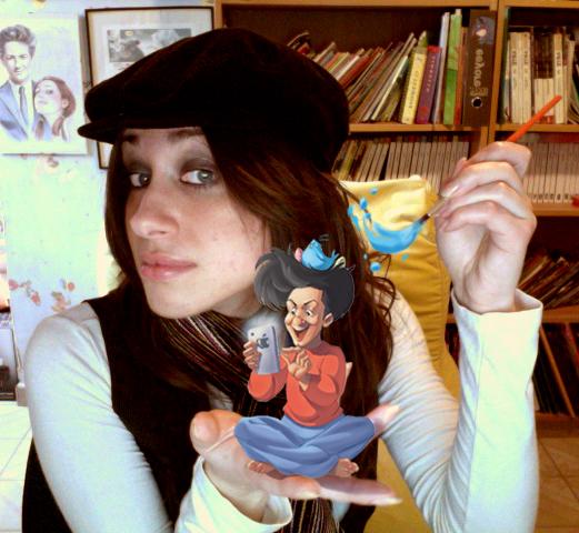 Cristina Comix:bio