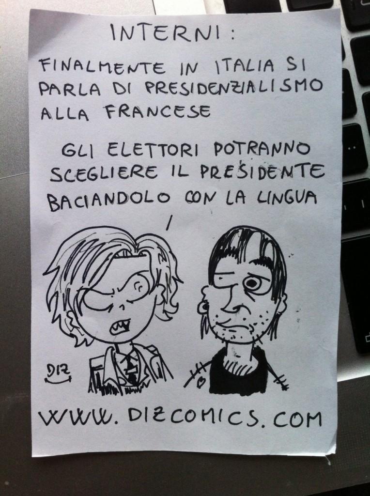 La vignetta del 3 giugno 2013