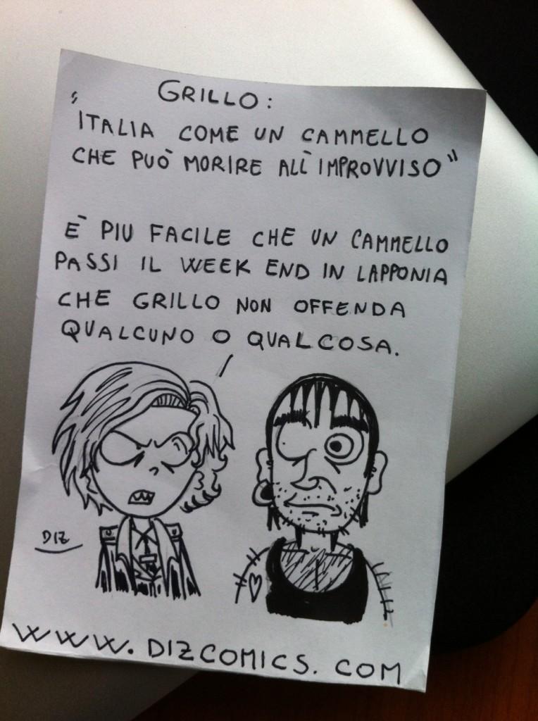Vignetta 3 giugno 2013: Grillo